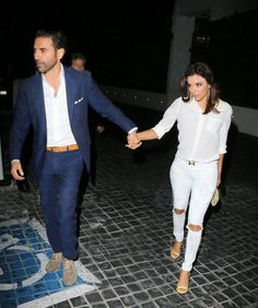 Showing him off: Eva Longoria walked hand-in-hand with boyfriend Jose Baston as she arrive. Eva Longoria, Celebs, Celebrities, Celebrity Couples, Couple Photography, Boyfriend, Walking, Hands, Denim