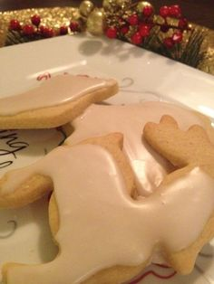 Dairy free sugar cookies - we have a milk allergy in the band, so if these turn out they'll probably become a staple