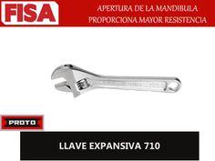 LLAVE EXPANSIVA 710. Apertura de la mandibula proporciona mayor resistencia- FERRETERIA INDUSTRIAL -FISA S.A.S Carrera 25 # 17 - 64 Teléfono: 201 05 55 www.fisa.com.co/ Twitter:@FISA_Colombia Facebook: Ferreteria Industrial FISA Colombia
