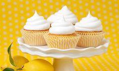 Vegane Cupcakes mit Zitronen-Topping