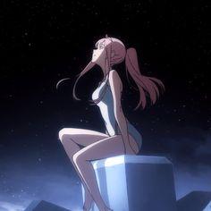 Animation darling in the franxx -Zero two art Fan Art Anime, Anime Love, Sad Anime, Anime Demon, Manga Girl, Manga Anime, Anime Girls, Querida No Franxx, Anime Shop