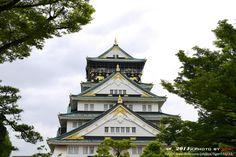https://flic.kr/p/nxMvTG   Osaka Castle 天守閣   大阪城-天守閣, 可惜天氣不好, 沒辦法完全呈現她的美麗。