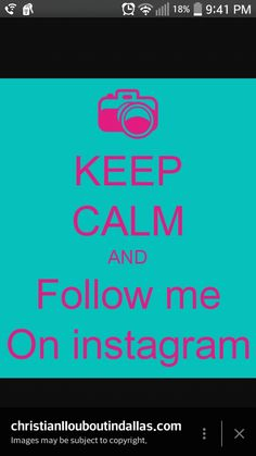 More Instagram Followers, Get Likes, Follow Me On Instagram, Keep Calm, Image, Stay Calm, Relax