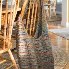 Market Bag Crochet Pattern XL Edition