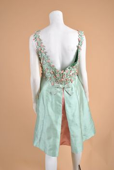 Vintage SAKS FIFTH Ave custom 1960'S Gown by wolfandmoonvintage