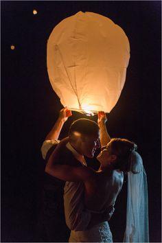 make a wish lantern | wedding lighting idea | wedding reception activities | #weddingchicks