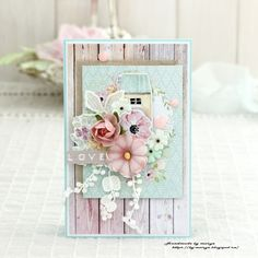 by Maryz: Открытка Mintay Papers - 2 Scrapbook Journal, Scrapbook Page Layouts, Scrapbook Cards, Scrapbooking, Card Making Tutorials, Making Ideas, Paper Cards, Diy Cards, Heartfelt Creations
