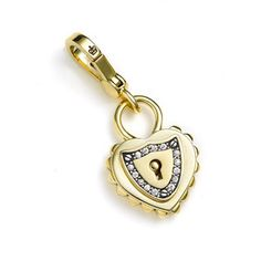 juicy couture heart lock charm - ebay buy