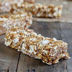 Gluten-Free Breakfast Ideas: No-Bake Gluten-Free Granola Bars