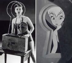 There is an urban legend that the original animated version of Tinker Bell was modeled after Marilyn Monroe. However, Disney animator Marc Davis's reference was actress Margaret Kerry Retro Disney, Vintage Disney, Disney Love, Disney Stuff, Peter Pan And Tinkerbell, Peter Pan Disney, Disney And Dreamworks, Disney Pixar, Disney Characters
