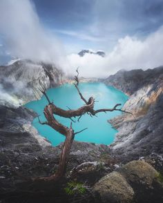 Ijen Volcano with Daniel Kordan, ijen, ijencrater and Indonesia Landscape Photography, Nature Photography, Travel Photography, Monuments, Lake Pictures, Asia Travel, Amazing Nature, Travel Around The World, Beautiful Places