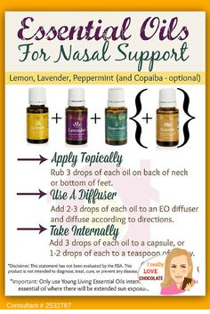 Essential Oils for Nasal Support - this guide will clearly walk you through the benefits of essential oils