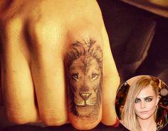 Cara Lion Tattoo Designs