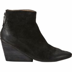 Marsell Round-Toe Wedge Ankle Boots