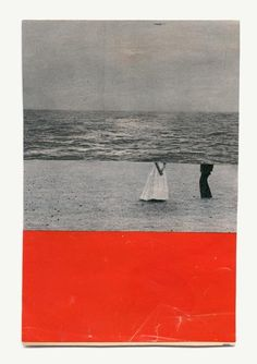 Inspiration.  Collage by Katrien De Blauwer. Use of line, colour, mismatched but comfortably sit together