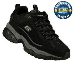 Men's Skechers Energy - Downforce Exter Wide - Black