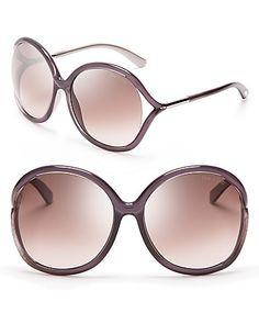 ff03771765 Tom Ford Rhi Oversize Sunglasses Jewelry   Accessories - Sunglasses - All  Sunglasses - Bloomingdale s