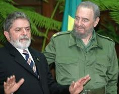 Lula e o grande Fidel
