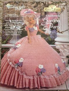 The Needlecraft Shop Ladies of Fashion Charlotte's Garden Party Fashion Doll Crochet Pattern