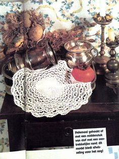 Patroon vintage doily Crochet Ideas, Doilies, Crochet Earrings, Knitting, Inspiration, Vintage, Biblical Inspiration, Tricot, Stricken