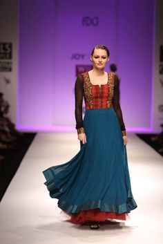 """Wills Lifestyle India Fashion Week AW '13"" Day 3 by Joy Mitra #Fashion #WillsLifestyle"