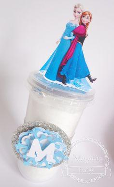 Algodão Doce Frozen   Pituquinha Festas   Elo7