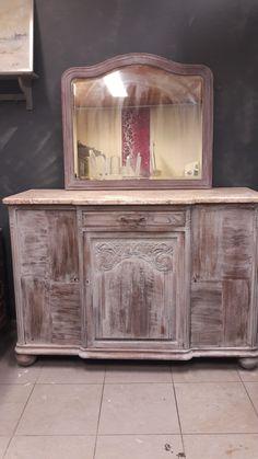 Meuble ancien disponible avec ou sans miroir. Oldies factory Cabinet, Storage, Furniture, Home Decor, Budget, Antique Furniture, Mirror, Paintings, Clothes Stand