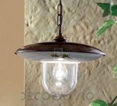 Светильник уличный потолочный подвесной Ferroluce Latina, A294 SO