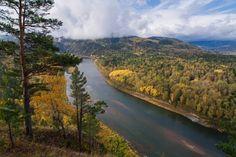 Река Мана, Красноярский край.  #Красоты_России #КрасотыРоссии #Россия