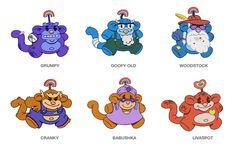 Codename: Kids Next Door, From the Sooper Obscure Files: Rainbow Monkeys! Best 90s Cartoons, Old Cartoons, Animated Cartoons, Jack Frost, Rainbow Monkey, Cartoon Network Uk, Care Bears Plush, Animation Programs, Vintage Cartoon