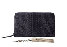 Python Print Two Tone Wallet Midnight Blue
