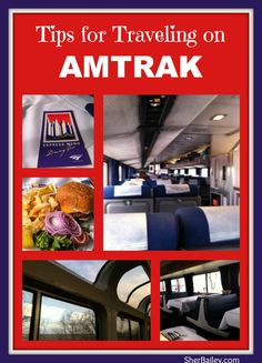 tips for traveling on amtrak