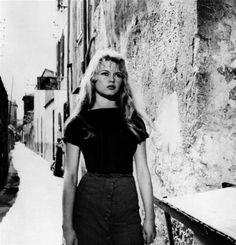"""Brigitte Bardot in """"Et Dieu créa la femme"""""""