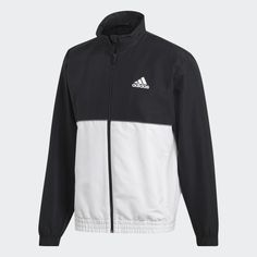 Club Track Suit Black / White DU0887 Adidas Tracksuit, Club, Black Adidas, Adidas Jacket, Suits, Jackets, Black White, Shopping, Style