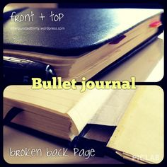 bullet journal notebook