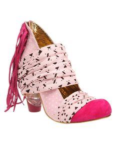 afbdaa93d Irregular Choice Pink Milkshake Mush Pump