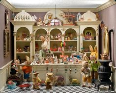 Easter Shop Dollhouse Miniature