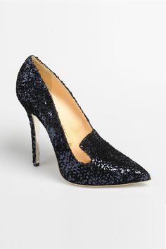 fall 2012, Arfango, shoes, evening, high heels, navy