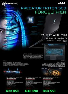 Acer Predator Triton Laptop Specials