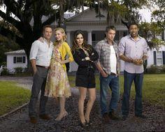 Still of Jaime King, Cress Williams, Rachel Bilson, Wilson Bethel and Scott Porter in Hart of Dixie