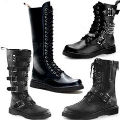 Check out these new mens' boots just in at Ipso Facto in time for The Labyrinth of Jareth Masquerade Ball! Get yours' today at our Fullerton, CA store and http://www.ipso-facto.com/boots.htm