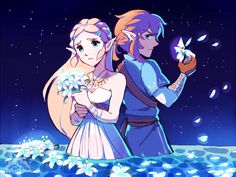 what do the flowers mean -                                         aquanutart