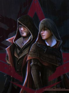 shalizeh7:More Assassin's Creed twins fanart ^_^For my sister! For my brother! Together!