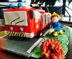 Fabtastic Cakes: Tutoriel gâteau camion pompier
