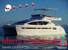 We wish you and your family a Merry Christmas! Enjoy this joyous time with your loved ones. From everyone at Cruiser Cats!