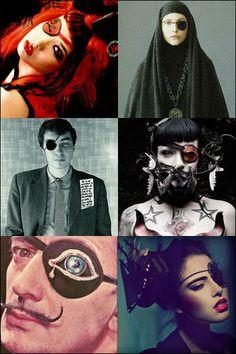 eyepatch party! via Coilhouse Magazine