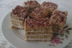 Retete Culinare - Prajitura fina cu nuca si smantana Tiramisu, French Toast, Sweets, Breakfast, Ethnic Recipes, Food, Morning Coffee, Gummi Candy, Candy