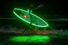 Night-surfing @ Cascais - PORTUGAL. The biggest night-surfing event ever held in westernmost Europa.