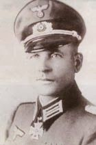 Generalmajor Hans HECKER (26 February 1895 – 1 May 1979) captured by Allied troops in 1945 and was released in 1947. Knight's Cross of the Iron Cross on 5 August 1940 as Oberstleutnant and commander of Pionier-Battalion 29 (mot.)
