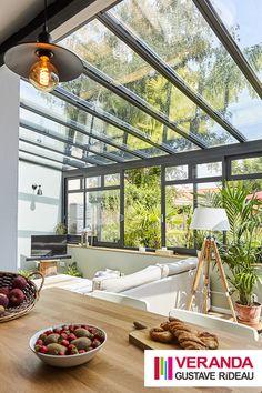 House Extension Design, House Design, Glass Balcony Railing, Veranda Railing, Weekend House, Marquise, House Extensions, Elegant Homes, Glass House